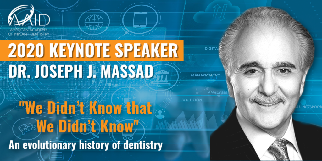 Dr. Massad Keynote